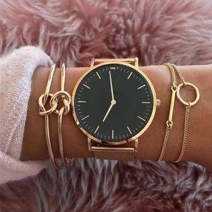 Gold knot bangles set of 3